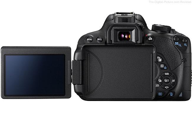Canon Rebel T5i Vari-Angle LCD