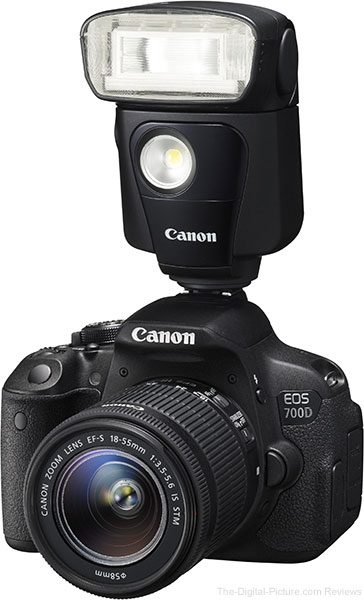 Canon Speedlite 320ex Flash Review