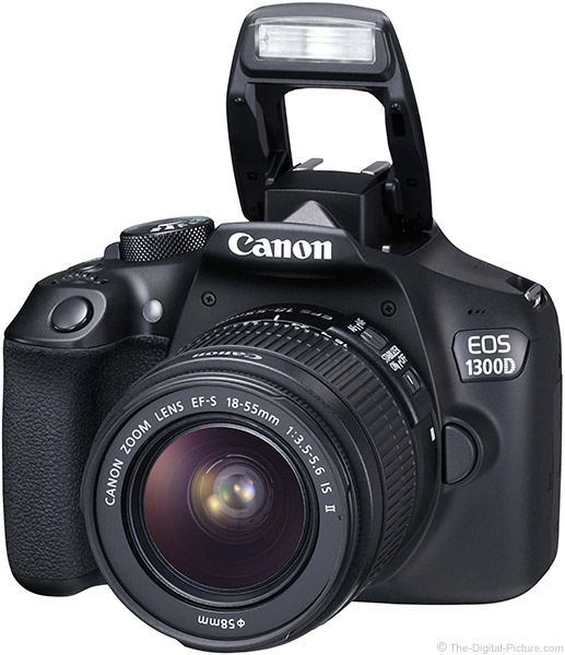Canon EOS Rebel T6 Flash Up