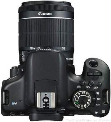 Canon EOS Rebel T6i / 750D Top View