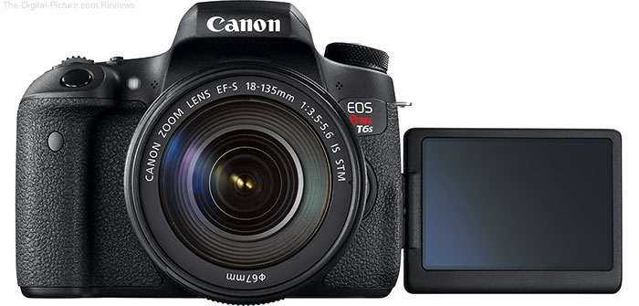 Canon EOS Rebel T6s / 760D Vari-Angle LCD Example