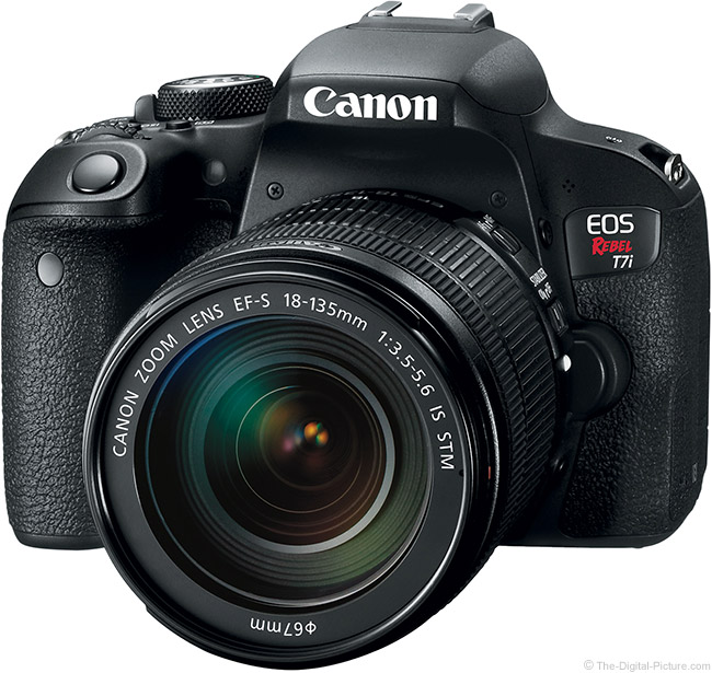 Canon EOS Rebel T7i / 800D DSLR Camera