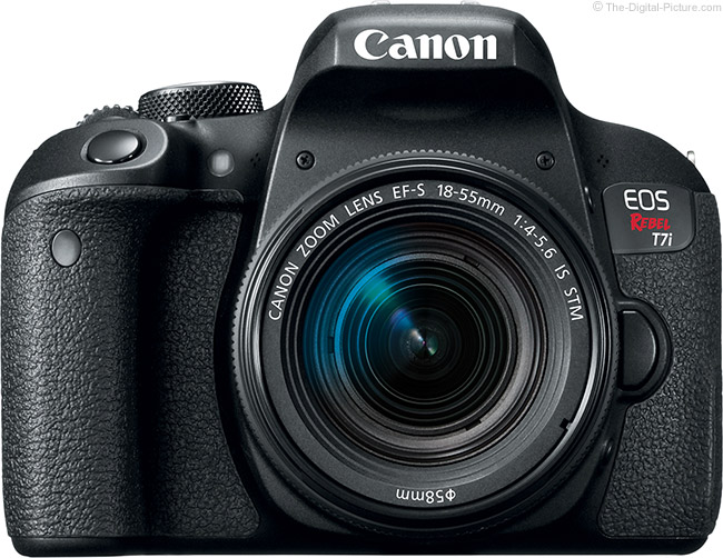 Canon EOS Rebel T7i / 800D Front
