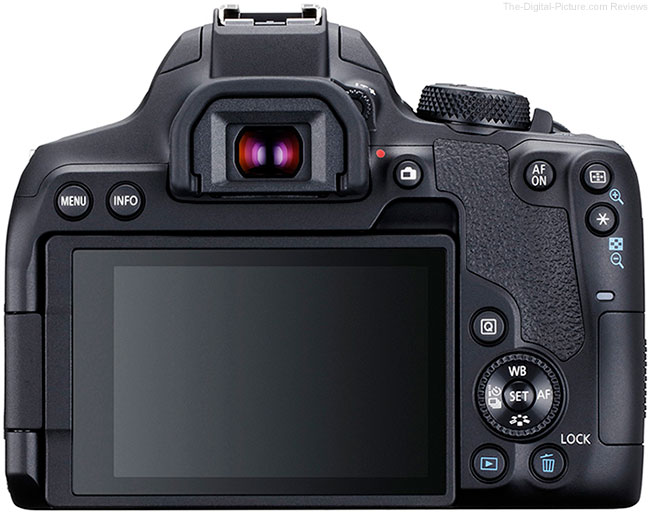 Canon EOS Rebel T8i / 850D Back