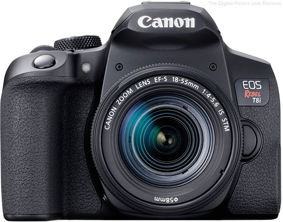 Canon EOS Rebel T8i / 850D Front
