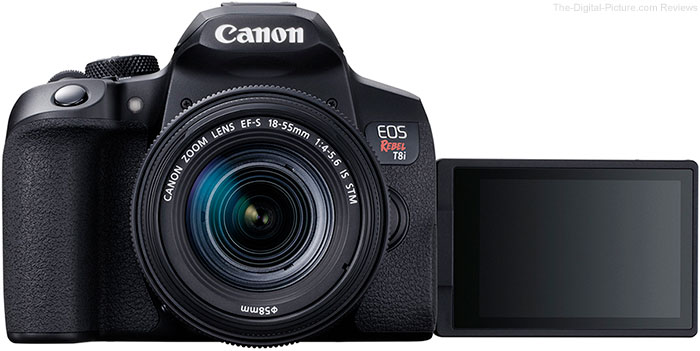 Canon EOS Rebel T8i / 850D LCD Open Front