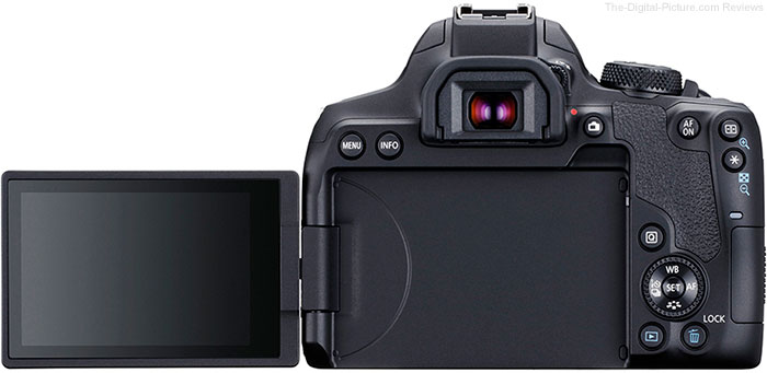 Canon EOS Rebel T8i / 850D LCD Open