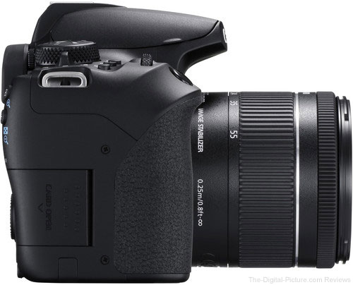Canon EOS Rebel T8i / 850D Right Side