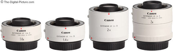 Canon EF 1.4x III Extender Comparison With Other Canon II and III Extenders