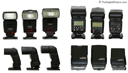 Canon eos 550ex speedlite user manual guide instructions printed.