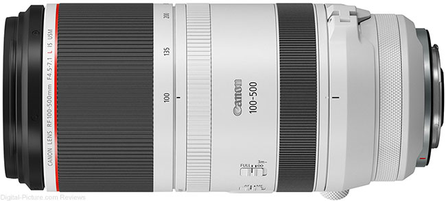 Canon RF 100-500mm F4.5-7.1 L IS USM Lens Tripod Ring