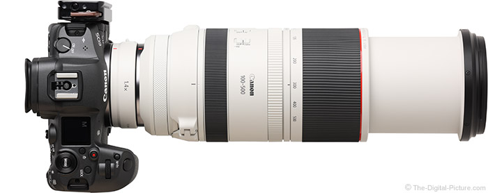 Canon RF 100-500mm F4.5-7.1 L IS USM Lens with Teleconverter