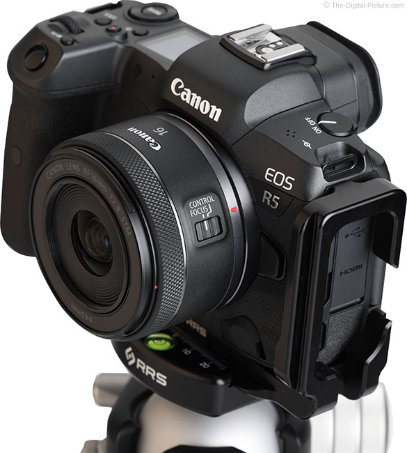 Canon RF 16mm F2.8 STM Lens Angle View