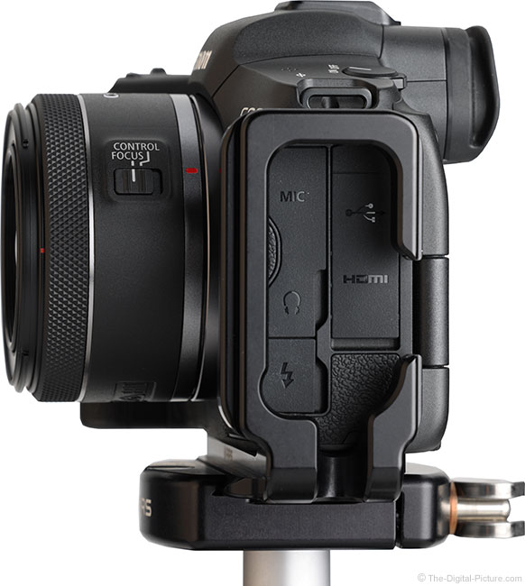 Canon RF 16mm F2.8 STM Lens Side View