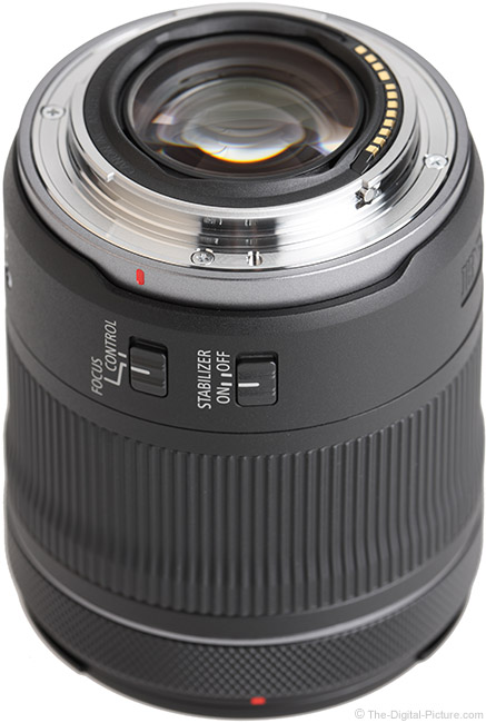 Canon RF 24-105mm F4-7.1 IS STM Lens Mount