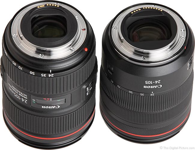 Canon EF vs. RF Mount