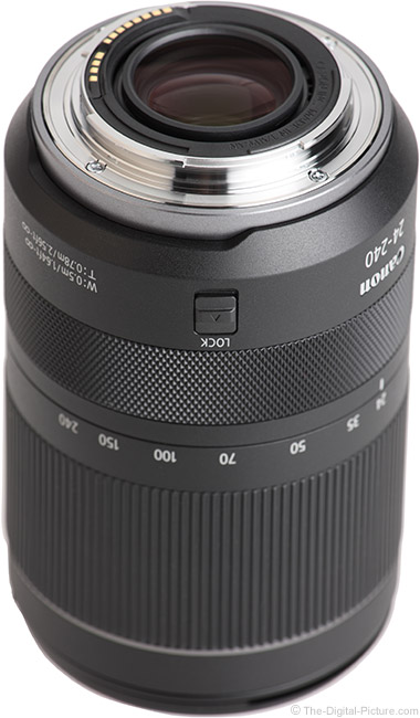 Canon RF 24-240mm F4-6.3 IS USM Lens Mount