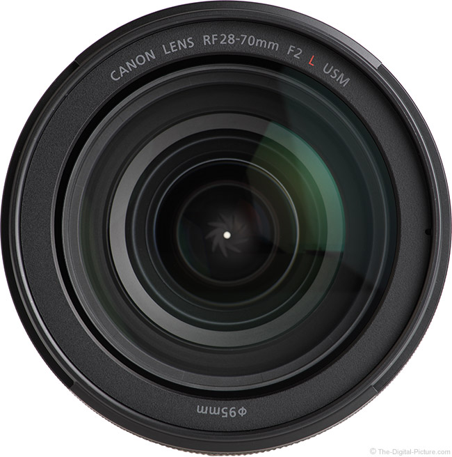 Canon RF 28-70mm F2 L USM Lens Front View