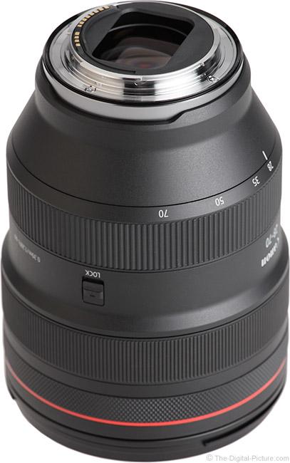 Canon RF 28-70mm F2 L USM Lens Mount