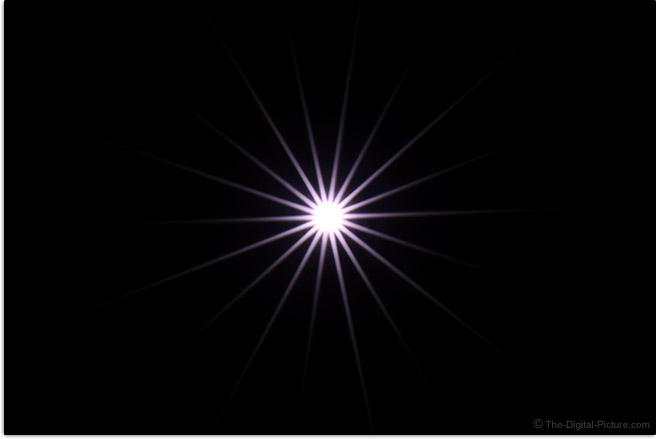 Canon RF 28-70mm F2 L USM Lens Starburst Effect Example