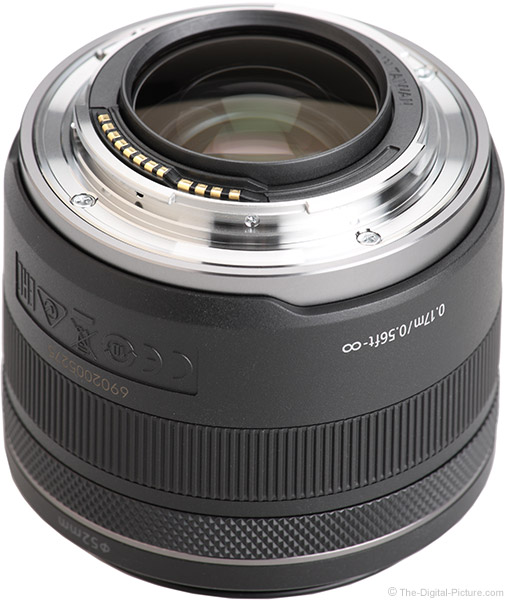 Canon RF 35mm f/1.8mm f/1.8 IS STM Macro Lens Mount