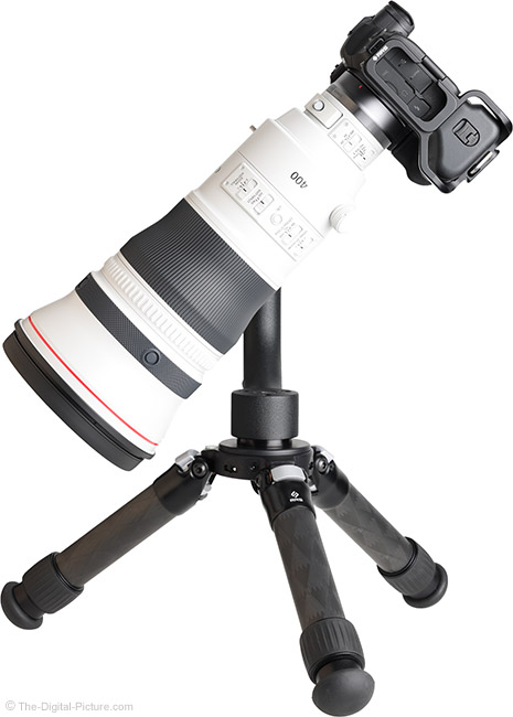 Canon RF 400mm F2.8 L IS USM Lens Side View