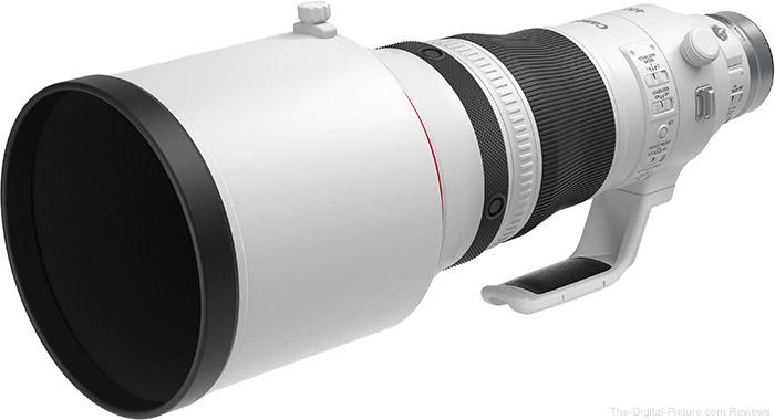 Canon RF 400mm F2.8 L IS USM Lens Hood Comparison