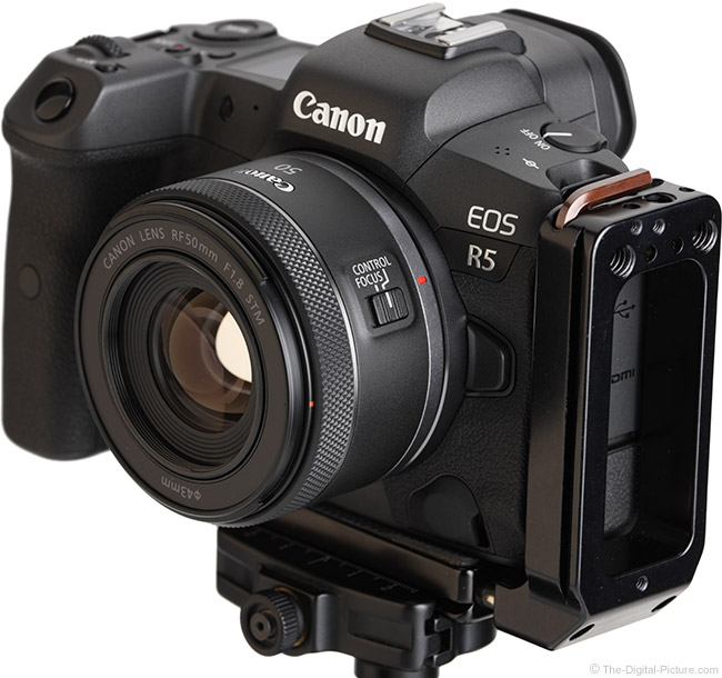 Canon RF 50mm F1.8 STM Lens Angle View