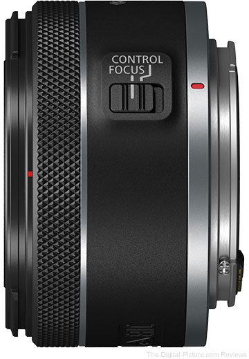 Canon RF 50mm F1.8 STM Lens Switches