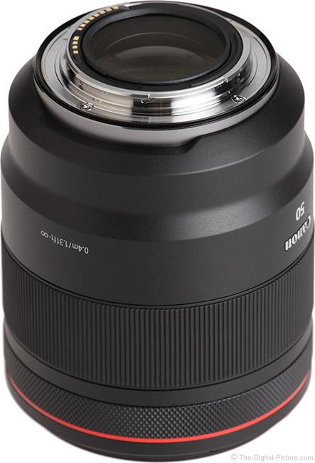 Canon RF 50mm F1.2 L USM Lens Mount