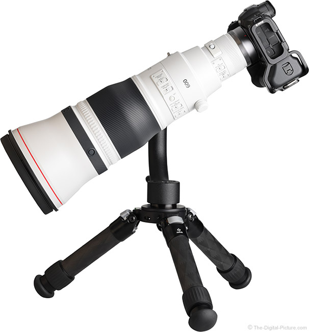 Canon RF 600mm F4 L IS USM Lens Side View