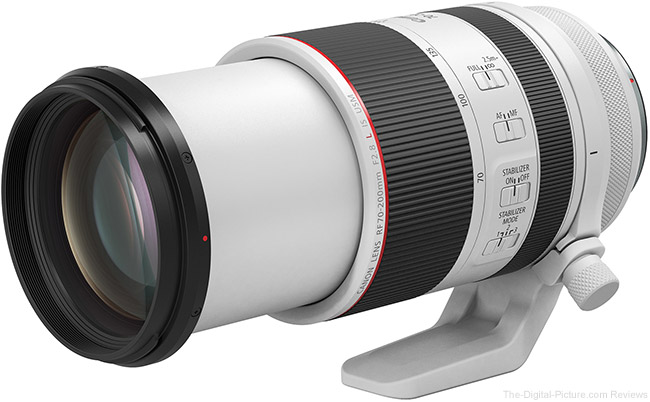 Canon RF 70-200mm F2.8 L IS USM Lens Angle Extended View