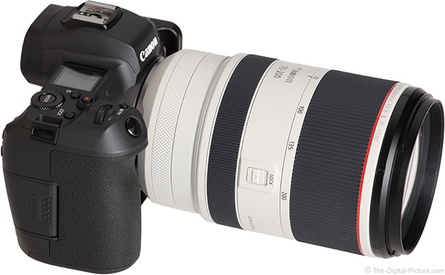 Canon RF 70-200mm F2.8 L IS USM Lens Angle Other View