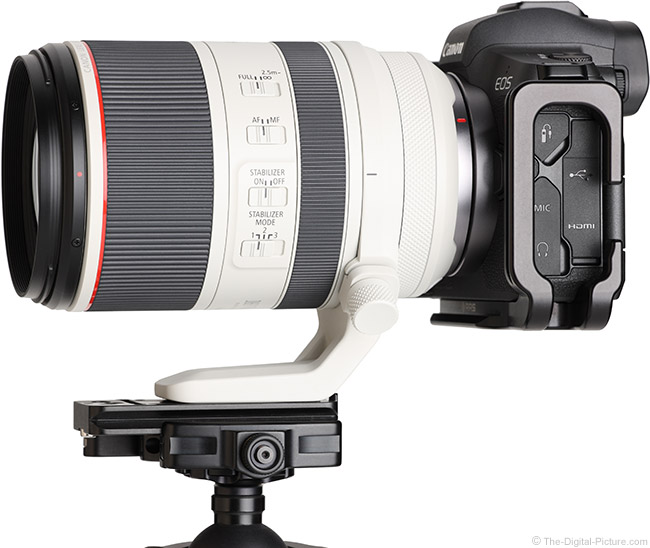 Canon RF 70-200mm F2.8 L IS USM Lens Side View