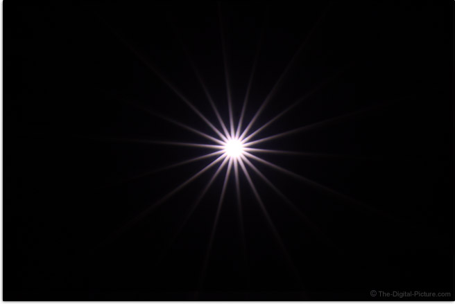 Canon RF 70-200mm F2.8 L IS USM Lens Starburst Effect Example