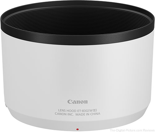 Canon RF 70-200mm F4 L IS USM Lens Hood ET-83G WIII