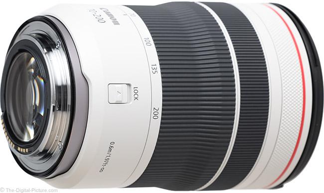 Canon RF 70-200mm F4 L IS USM Lens Mount