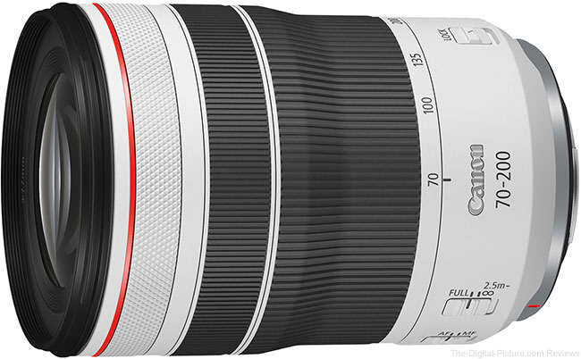 Canon RF 70-200mm F4 L IS USM Lens
