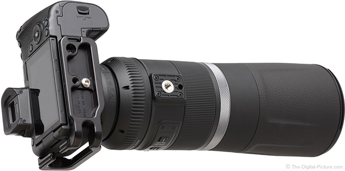 Canon RF 800mm F11 IS STM Lens Bottom Angle View