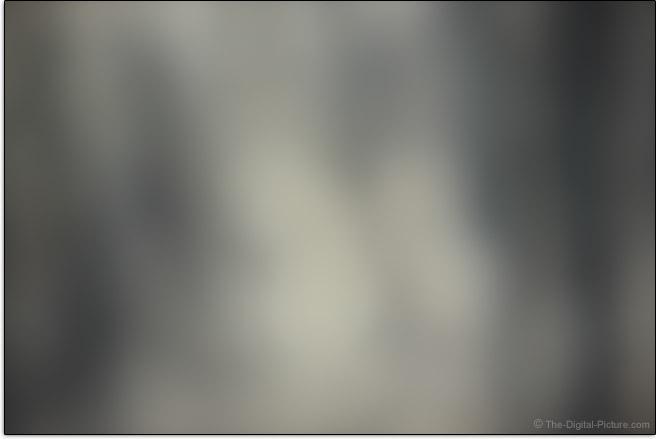 Canon RF 85mm F1.2 L USM DS Lens Maximum Blur Example