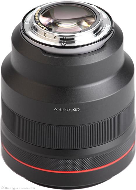 Canon RF 85mm F1.2 L USM Lens Mount