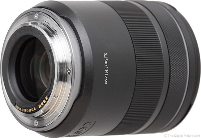Canon RF 85mm F2 Macro IS STM Lens Mount