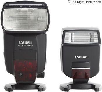 Canon Speedlite 220EX II compared to the 580EX II