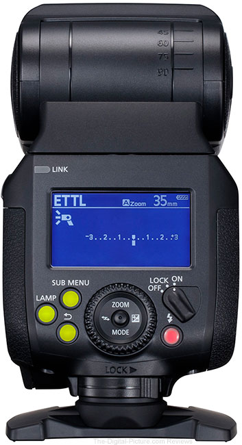 Canon Speedlite EL-1 Flash Back