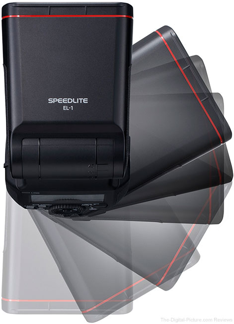 Canon Speedlite EL-1 Flash Rotate