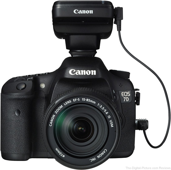 Canon Speedlite Transmitter ST-E3-RT on Canon EOS 7D