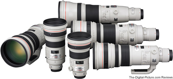 Canon's 2008 Super Telephoto Lens Lineup