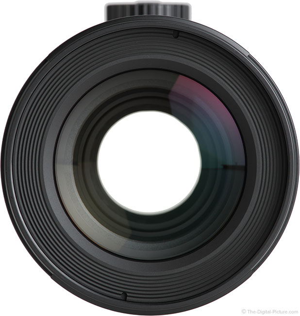 Canon TS-E 135mm f/4L Tilt-Shift Macro Lens Front View