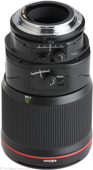 Canon TS-E 135mm f/4L Tilt-Shift Macro Lens Mount
