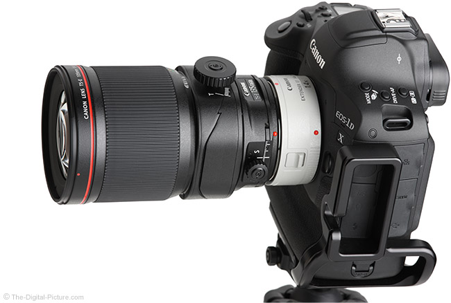 Canon TS-E 135mm f/4L Tilt-Shift Macro Lens with Teleconverter